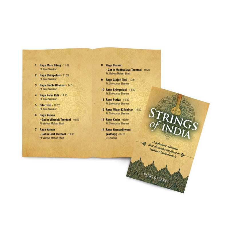 Strings of India - Finest Musicians of Indian Classical (SMMC08) by Sony Music