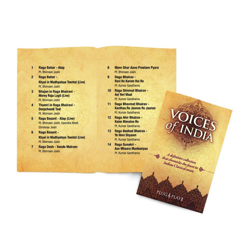 Voices of India - Finest Vocalists of Indian Classical (SMMC07) by Sony Music