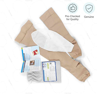 100% genuine stocking socks for varicose veins. Pre checked for quality by Sorgen India| heyzindagi.com- shipping across all over India