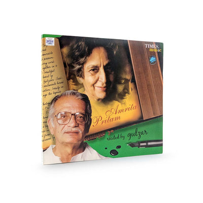 Amrita Pritam - Recited by Gulzar Mp3 Music (TMMC54) by Times Music | Visit at heyzindagi solutions