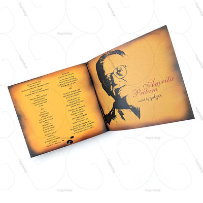 Amrita Pritam - Recited by Gulzar Poems Collection Music CD (TMMC54) by Times Music | Visit at Heyzindagi Solutions
