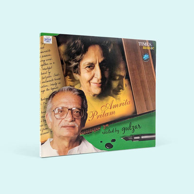 Amrita Pritam - Recited by Gulzar Music CD (TMMC54) by Times Music | www.heyzindagi.com
