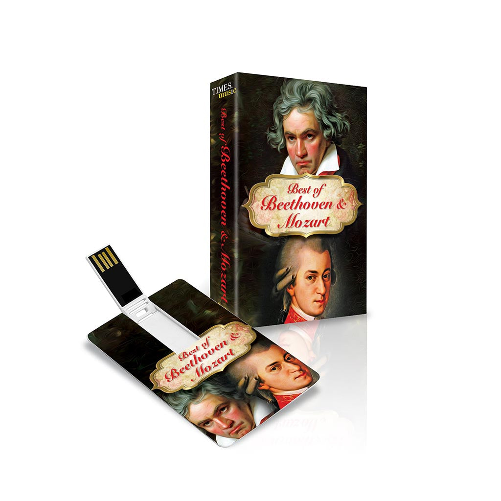 Best of Beethoven and Mozart (USB Music Card)