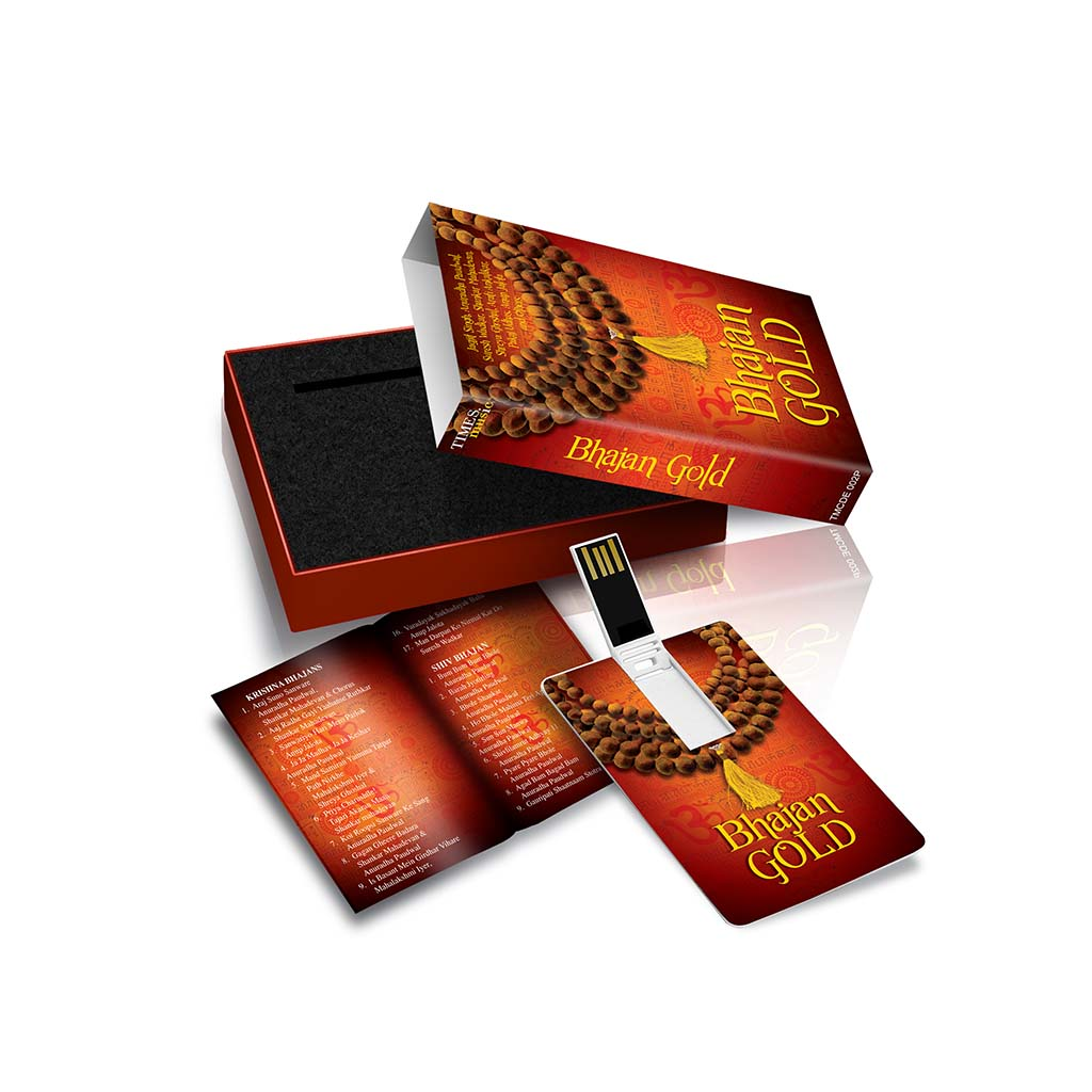 Buy Online Bhajan Gold (USB Music Card) by Times Music - Hey