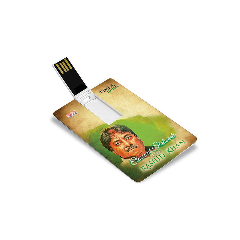 Classical Stalwarts: Ustad Rashid Khan (USB Music Card)