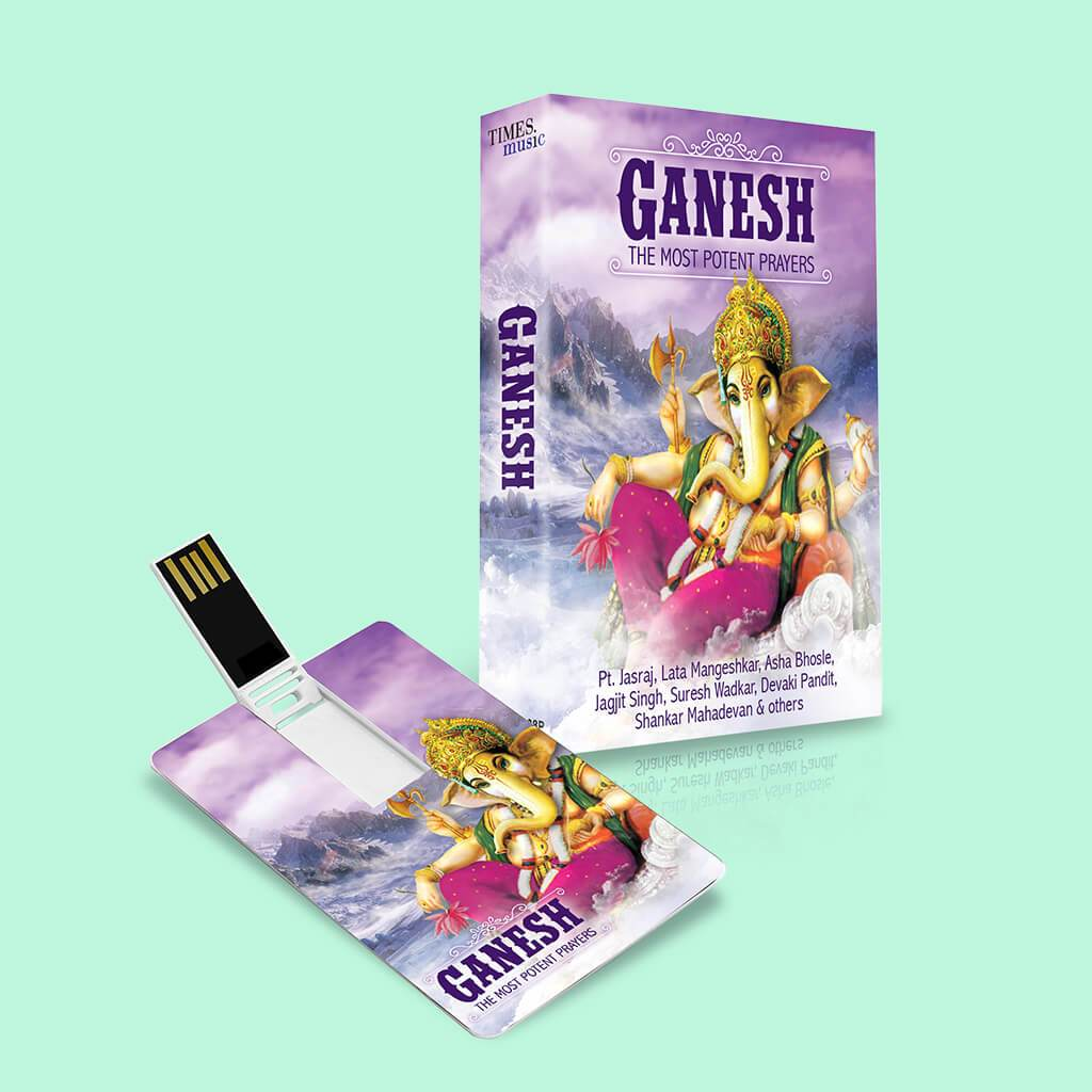 Ganesh the Most Potent Prayers (USB Music Card)
