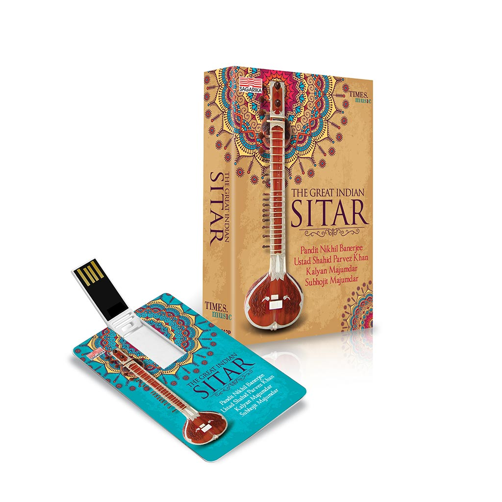 The Great Indian Sitar (TMMC67) by Times Music