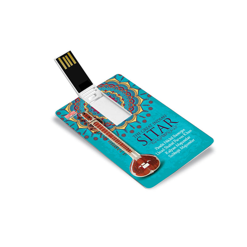 The Great Indian Sitar (USB Music Card)