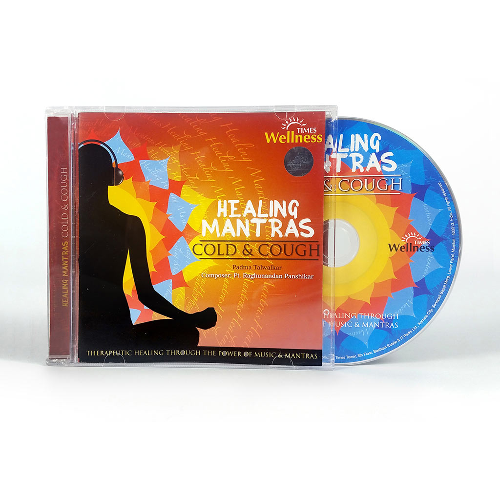Healing Mantras Cold & Cough (Audio CD) (TMMC41) by Times Music