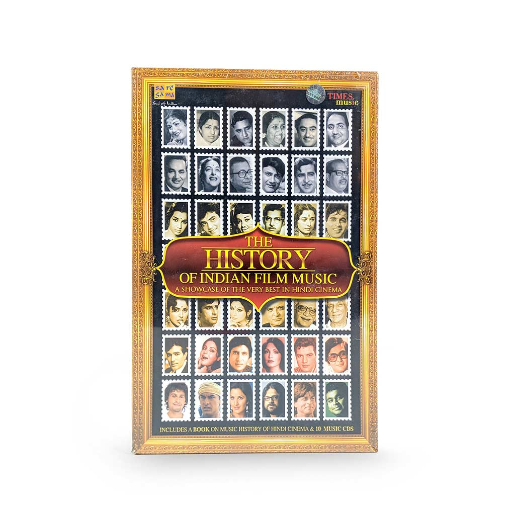 The History of Indian Film Music - 10 CD (TMMC50) by Times Music