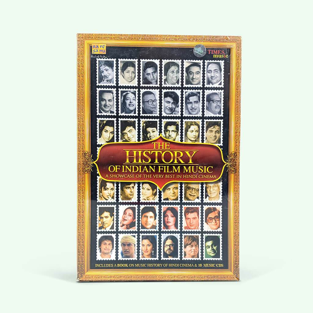 The History of Indian Film Music (10 CD and Book Set)