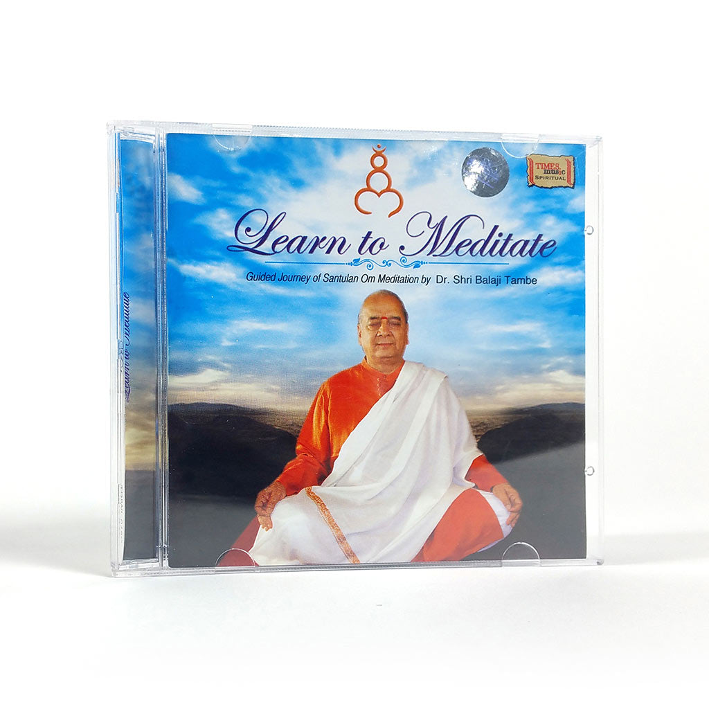 Learn to Meditation by Dr. Balaji Tambe (TMMC37) by Times Music