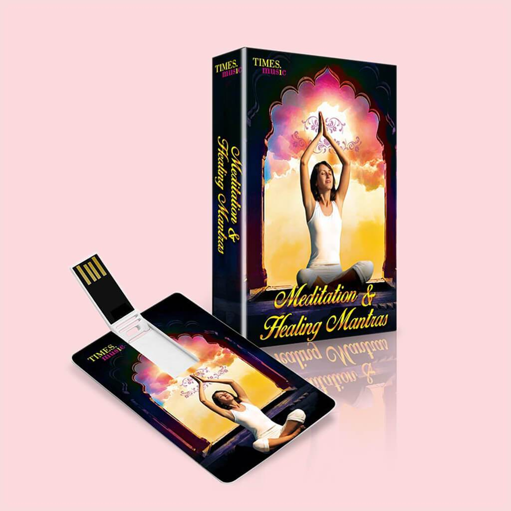 Meditation & Healing Mantras (USB Music Card)