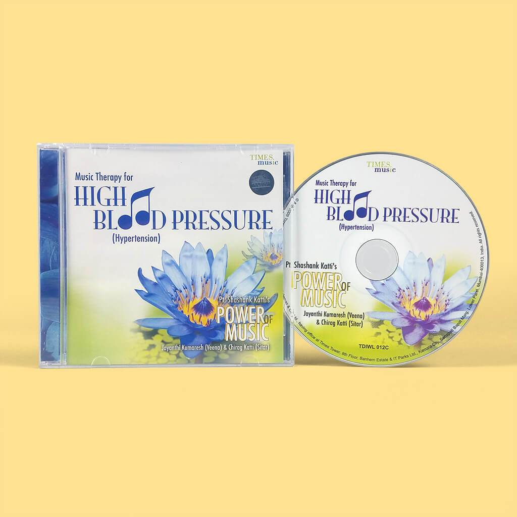 Music Therapy for High Blood Pressure (Audio CD)