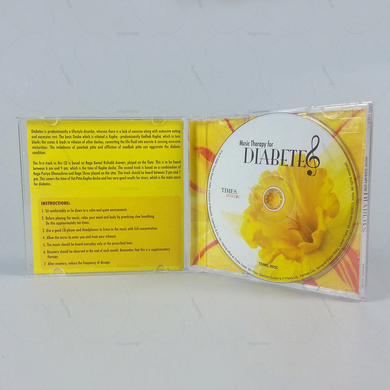 Music Therapy for Diabetes (Audio CD)