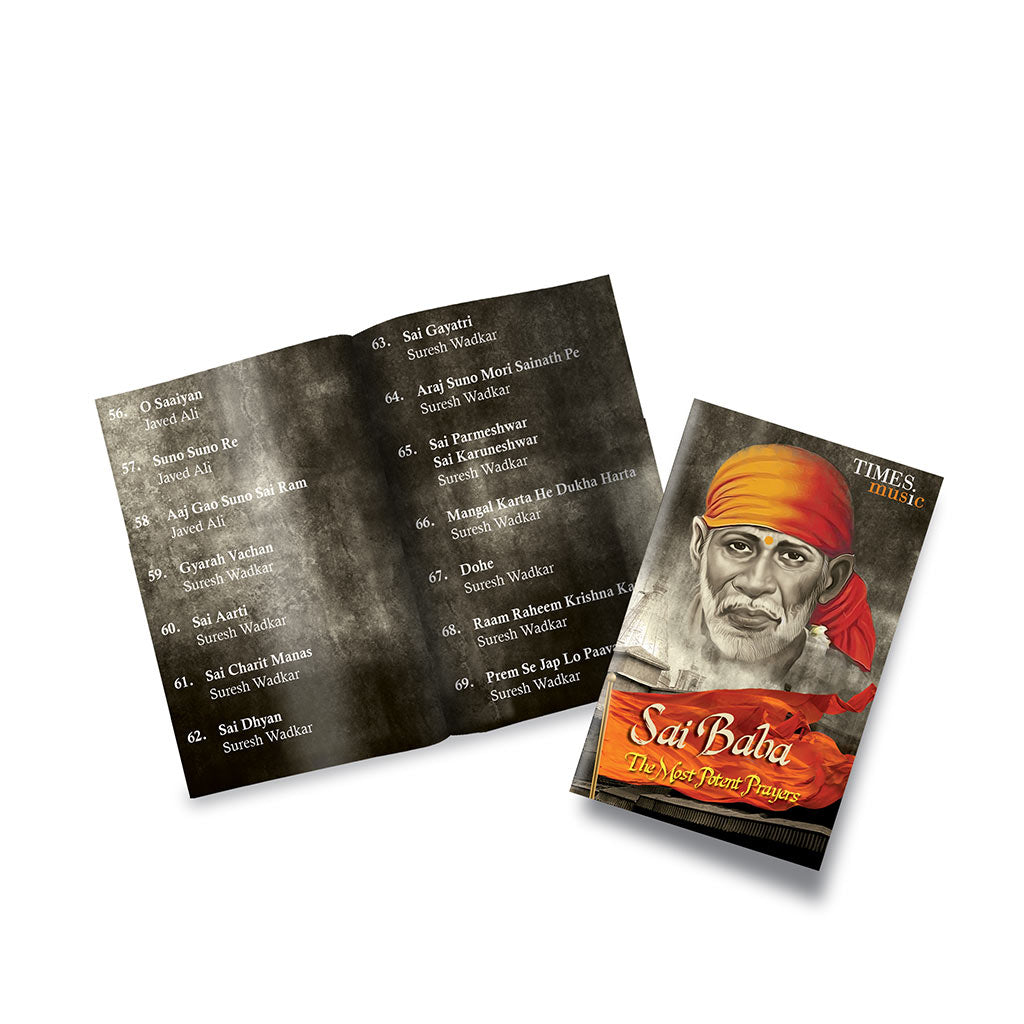Buy Sai Baba Bhajans And Aartis Music Card By Times Music Hey