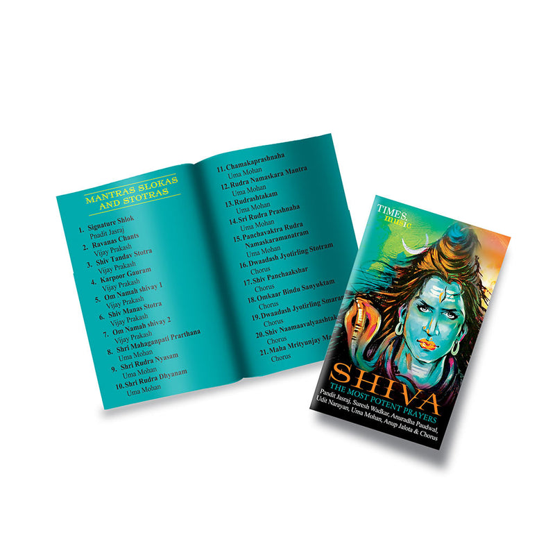 Shiva the Most Potent Prayers (USB Music Card)