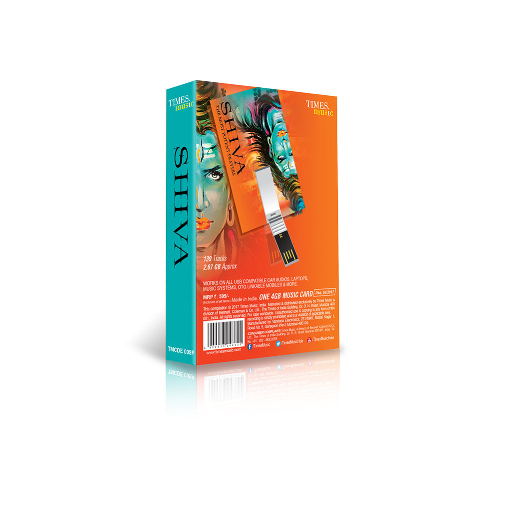 Shop Shiva the Most Potent Prayers (USB Music Card) TMCDE009P by