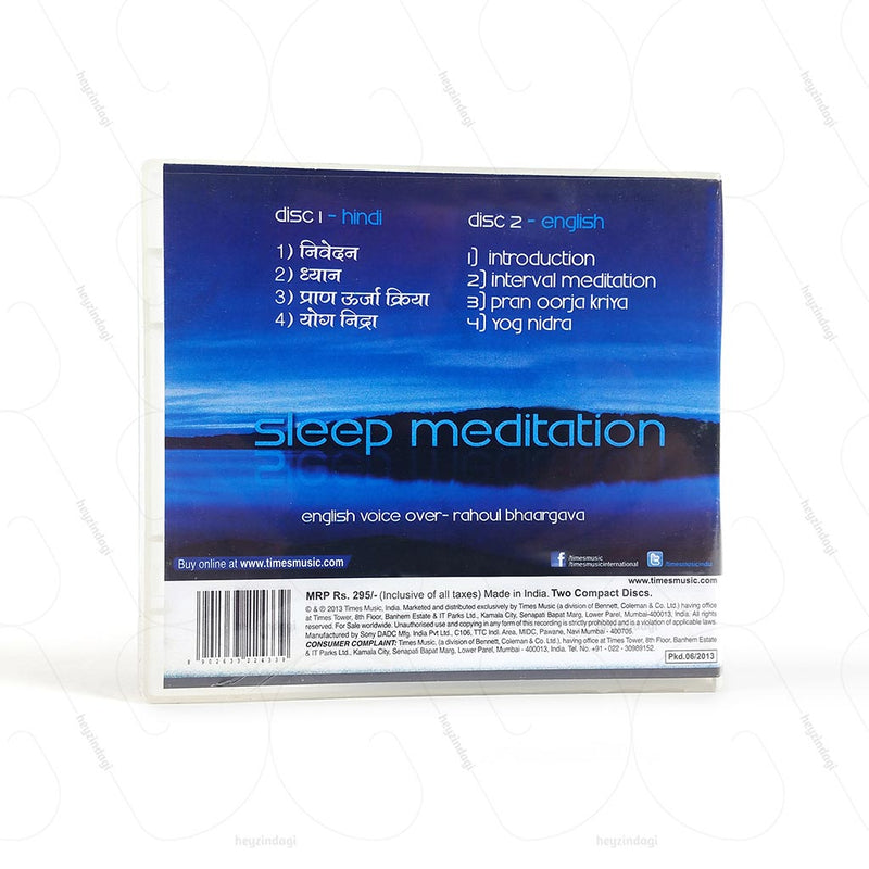 Sleep Meditation 2cd Ppbox (TMMC38) by Times Music