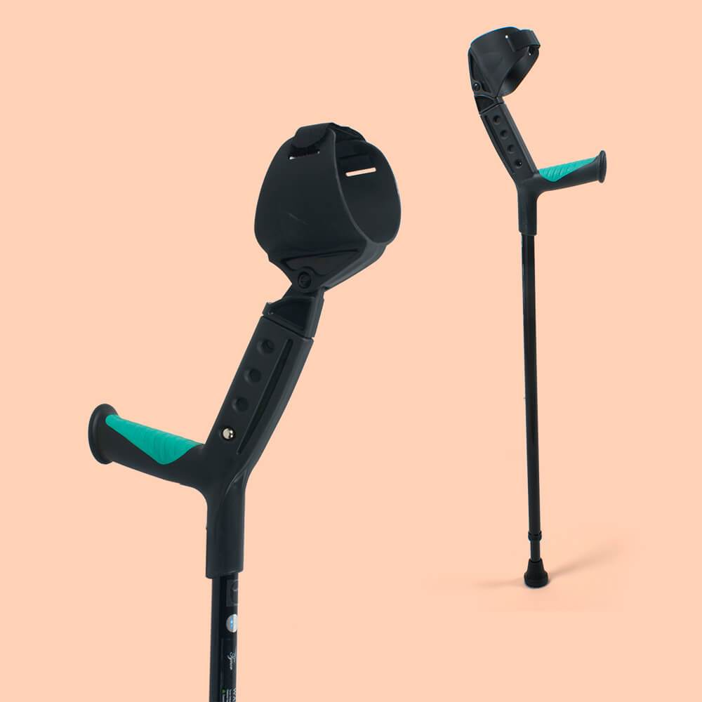Adjustable Elbow Crutch (Soft Top Handle)
