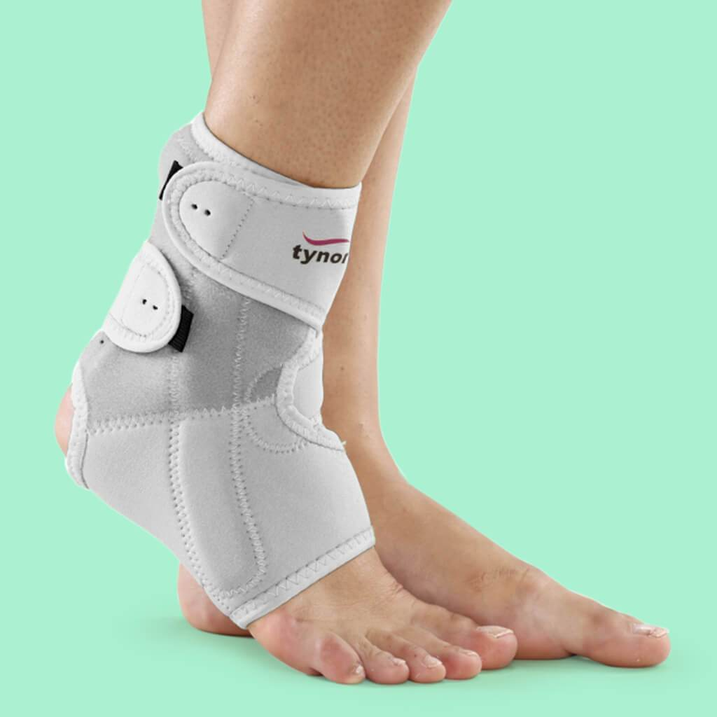 Ankle Support (Neoprene / with semi-rigid splint)
