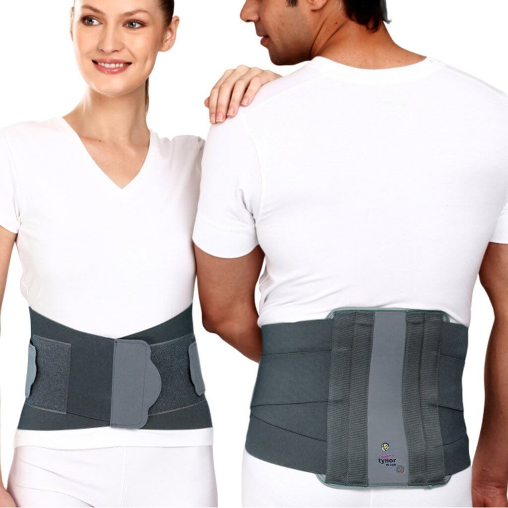 Contoured Lumbo Sacral Support (Removable Metal Stays)