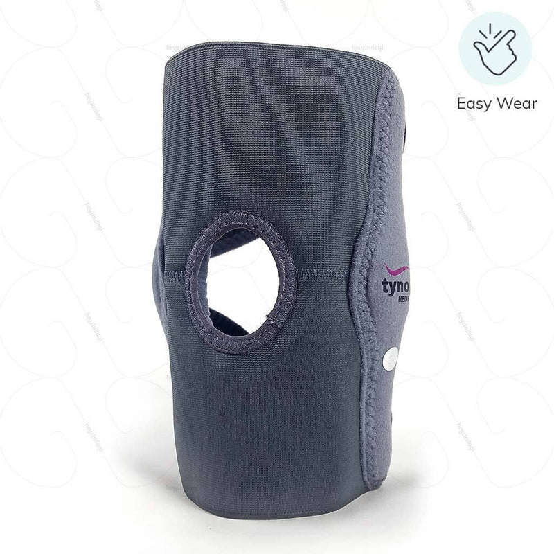 Elastic Knee Support (with hinges) (D08BAZ) to support weak knees by Tynor India | shop at heyzindagi.com