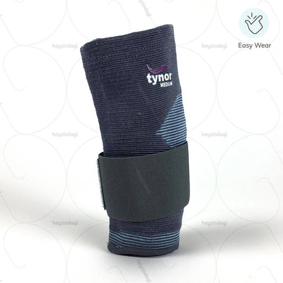 Easy to wear elbow support (E11BAZ) by Tynor India | heyzindagi.com- a health & wellness site for differently abled