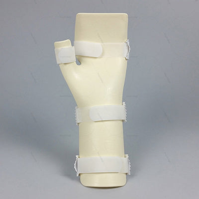 Thumb wrist splint (E29BHA) to aid treatment of burn injury by keeping the fingers separate | heyzindagi.com- an online store for elders & differently abled