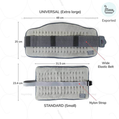 Ortho heat belt (I73UBZ) with an easy wrap design. Exported by Tynor India | buy online from Heyzindagi.com
