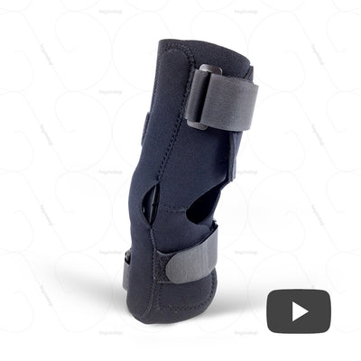 "<iframe width=""560"" height=""315"" src=""https://www.youtube.com/embed/wmjiVmnRIRc"" frameborder=""0"" allow=""accelerometer; autoplay; encrypted-media; gyroscope; picture-in-picture"" alt=""Economy range Knee Support brace (J15BCZ) by Tynor India- as a rigid support for weak knees 