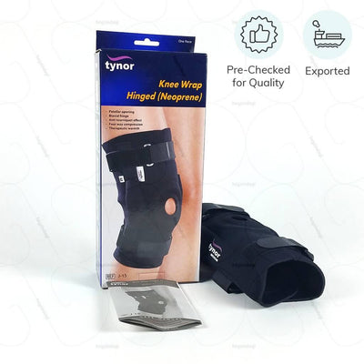 ACL knee brace (J15BCZ) for stress relief from knee joint. Exported & pre checked for quality by Tynor India | buy online at heyzindagi.com