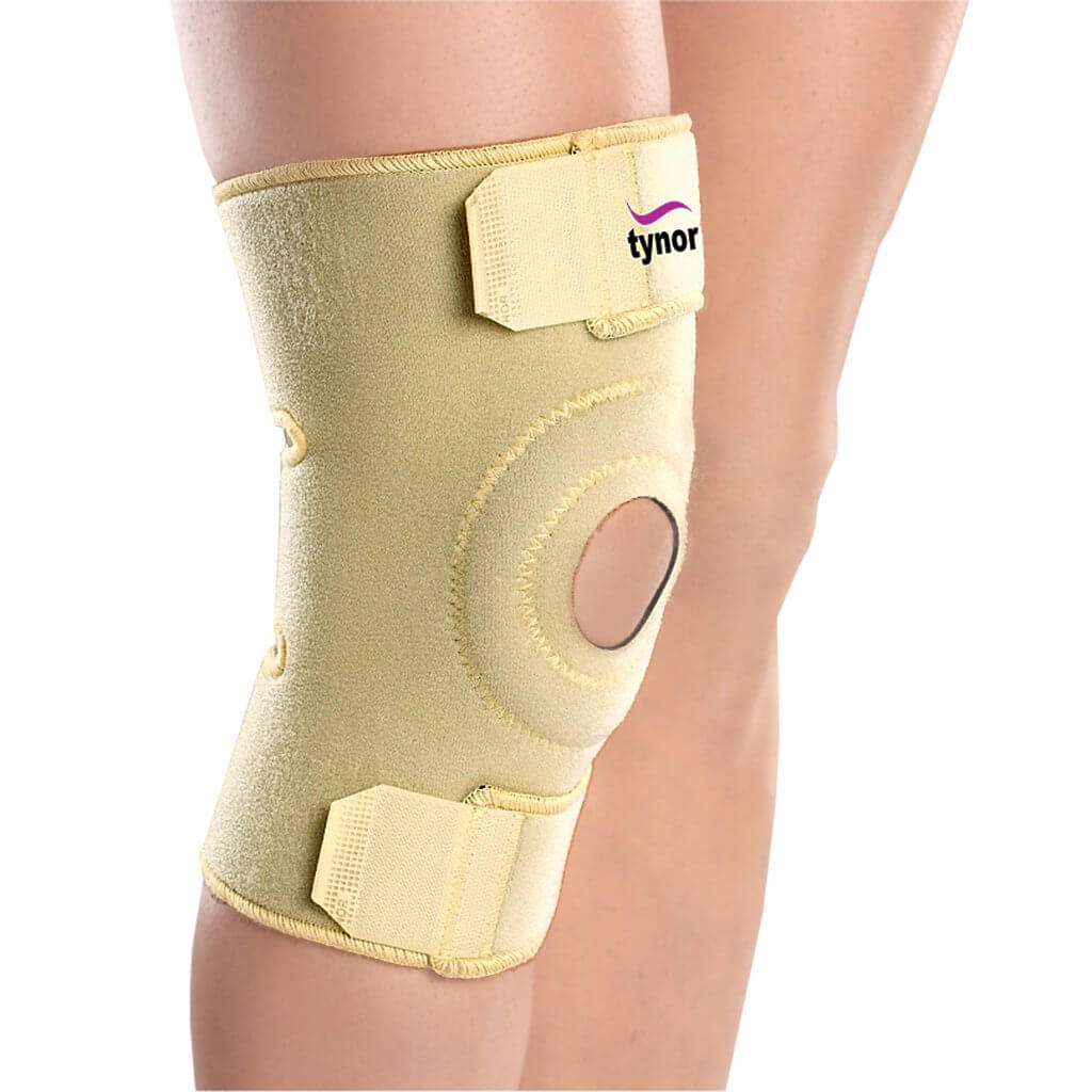Knee wrap (neoprene) (J05UAZ) - a basic joint pain relief aid by Tynor India | www.heyzindagi.in