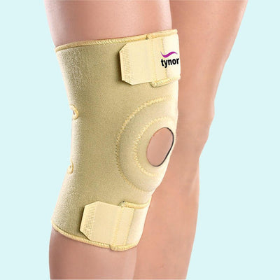 Knee wrap (neoprene) (J05UAZ) - a basic joint pain relief aid by Tynor India | Knee Wrap (Neoprene)