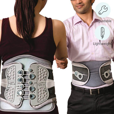 Lightweight LS belt for slip disc (A29UBZ) by Tynor India. Offers adjustable compression | order online at Hey Zindagi Solutions