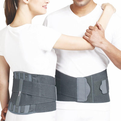 Lumbar sacro belt (A04BAZ) manufactured by Tynor India | heyzindagi solutions for differently abled