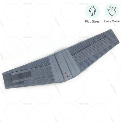 Easy Wear belt for back pain (A05CAZ) by Tynor India. Available for large waist sizes | www.heyzingadi.com