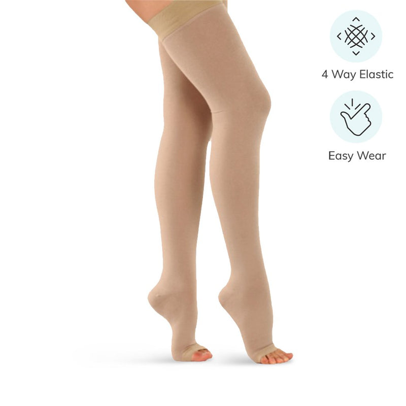 Medical Compression Stockings for Varicose Veins (Knee / Thigh, Class II)
