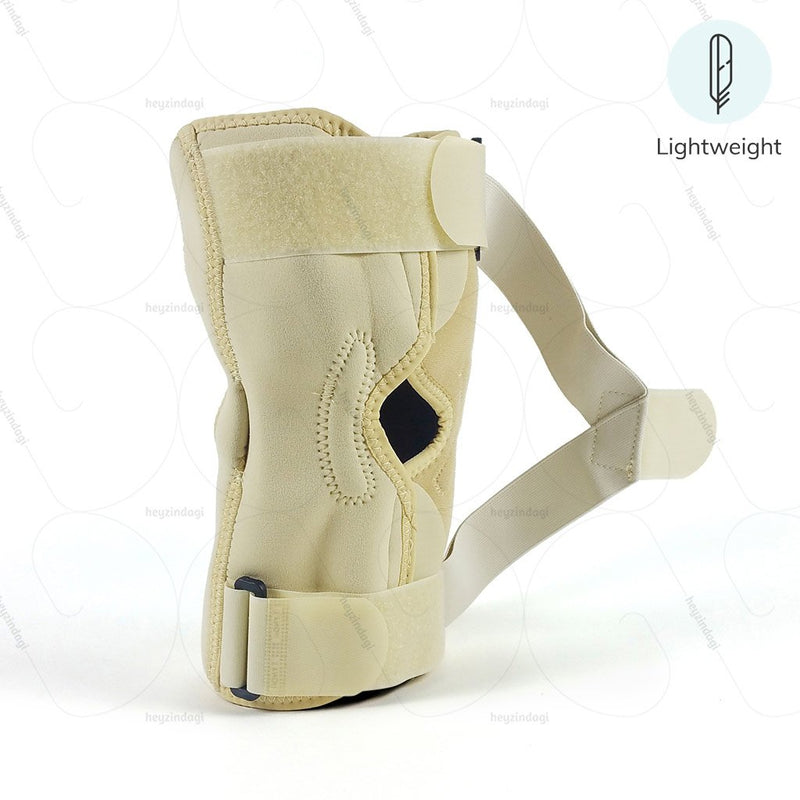 OA Hinged Knee Neoprene support for Varus J08BG  (Bow-legged)  by Tynor India | Heyzindagi.com