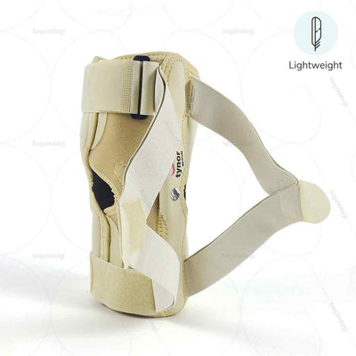 Lightweight Knock knee correction brace (J08BG) to aid damaged cartilage by Tynor India | at best price from heyzindagi.com- a health and wellness site for disabled in India