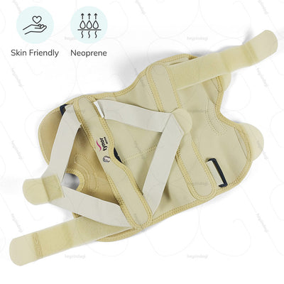 Bow leg remedy (J08BG) designed by Tynor India- comprising of skin friendly material & breathable neoprene fabric | buy from amazon.in