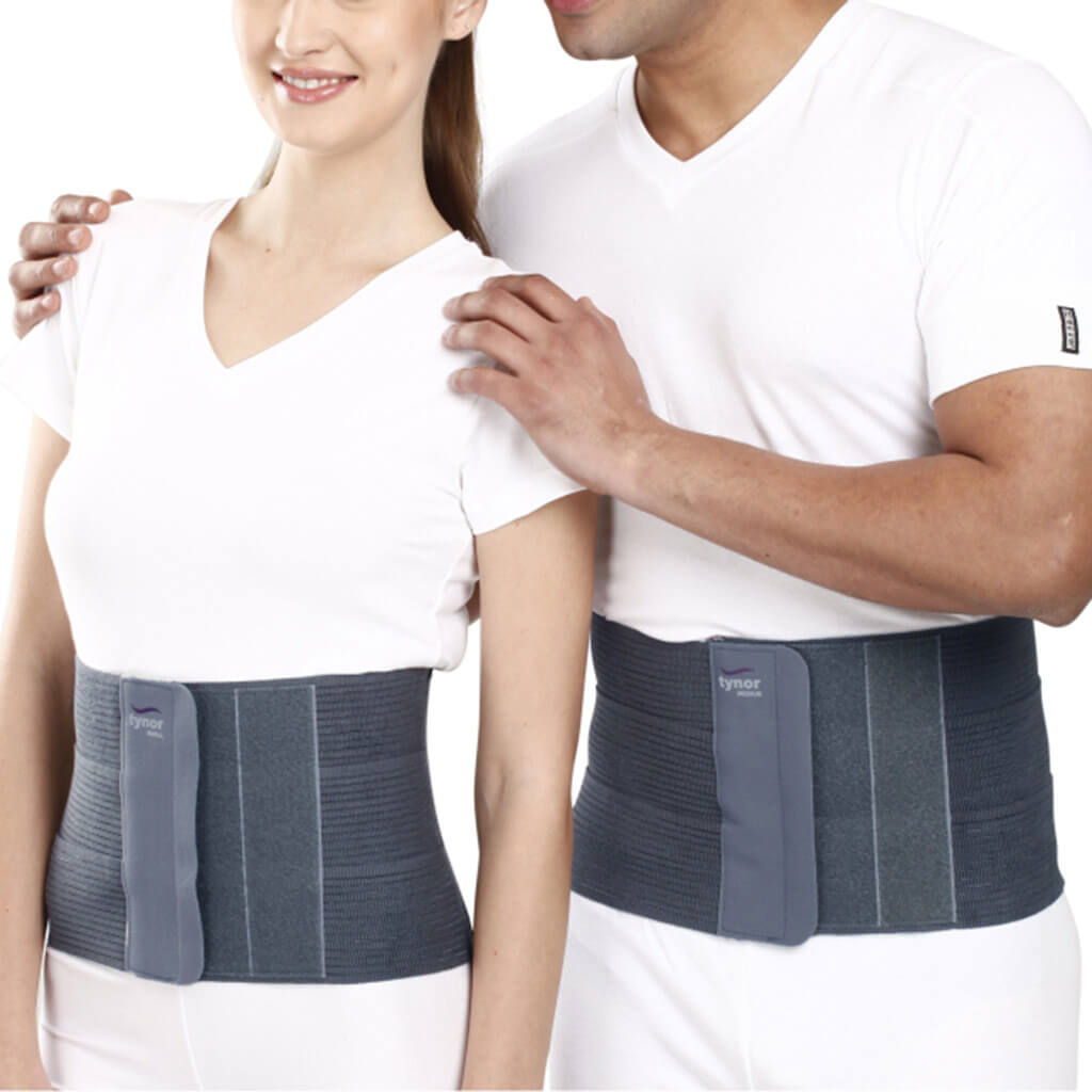 "Abdominal Belt & Tummy Trimmer (8"") with flexible panels"