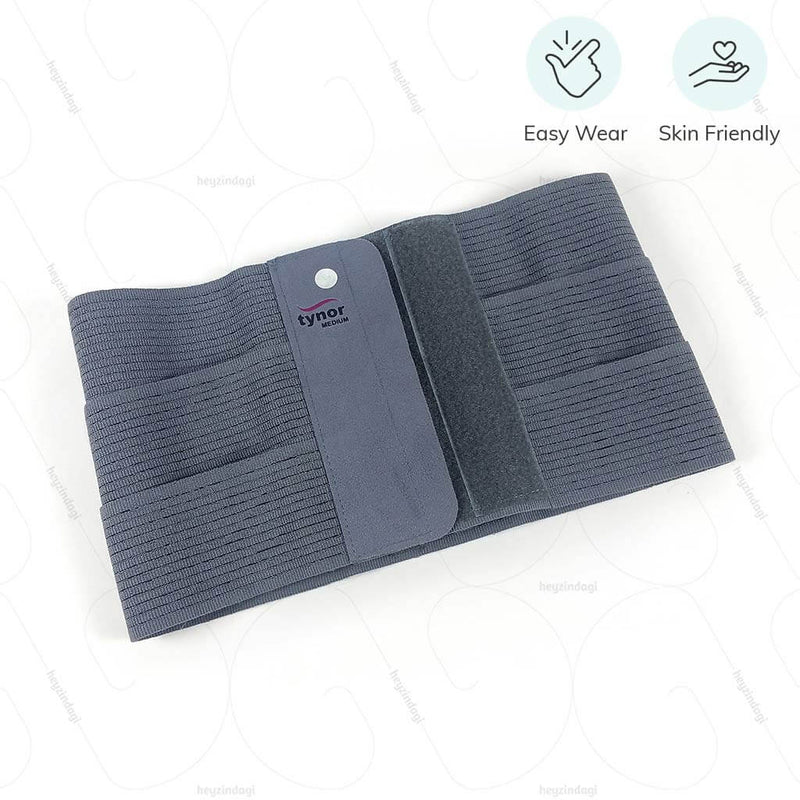 Abdominal belt (A03BAZ) with flexible panels by Tynor India | Shop online at heyzindagi.com