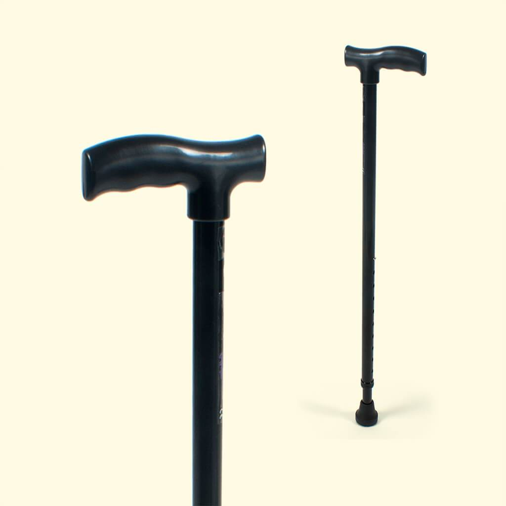 Walking Stick (Black / L Shaped Handle)