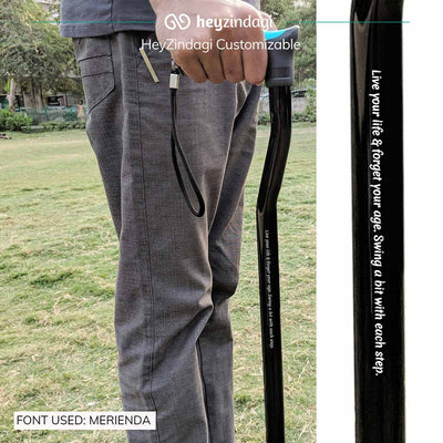 Walking stick for old age (l07UCZ). Manufactured by Tynor India | heyzindagi.com- shipping done all across India
