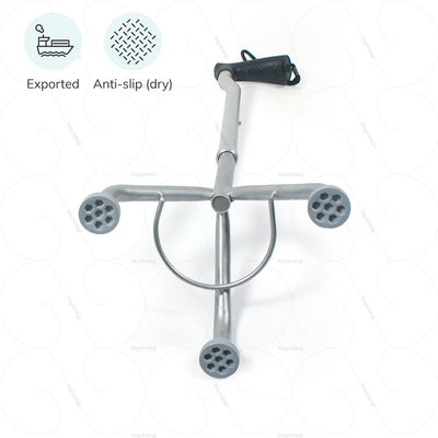 Exported walking stick L32UDZ by Tynor India. Anti slip ferrules to prevent accidental falls on wet surfaces | heyzindagi.com- an online store for senior citizens
