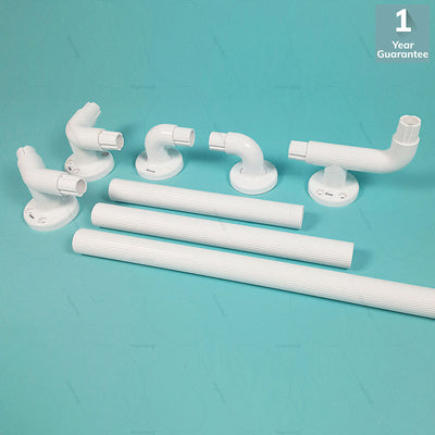 Modular ABS Grab Bars Ends (VIMGFE01) by Viking India