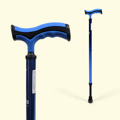 Avanti Plus T-Shape Walking Stick (Aluminium) 2911 by Vissco India | www.heyzindagi.com