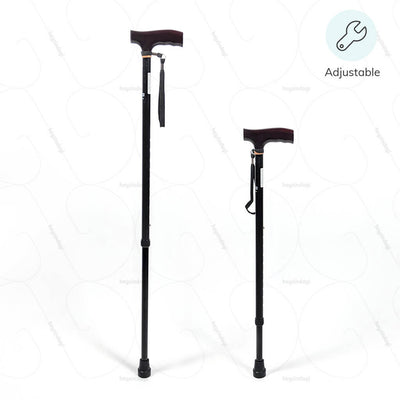 Height adjustable walking stick (2906) by Vissco India |  order online at amazon.in