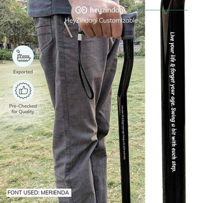 Best walking stick  (L08UCZ) by Tynor India. Exported & pre checked for quality.  | explore heyzindagi solutions